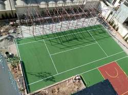 Pu / Pvc Polyurethane Volleyball Court Sports Flooring Surfaces