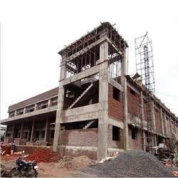 Commercial Steel Frame Structures Building Construction Work