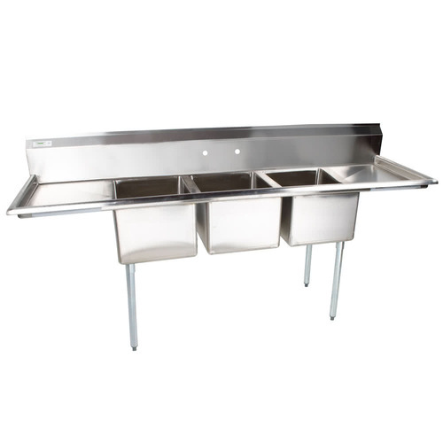 Stainless Steel Silver Kitchen Sink, Rs 3000 /running feet, Glorious ...