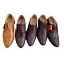 Men Leather Semi Formal Shoes