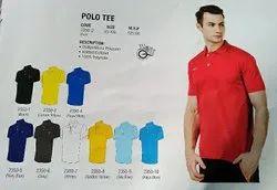 Polyester Nivia T Shirt Polo