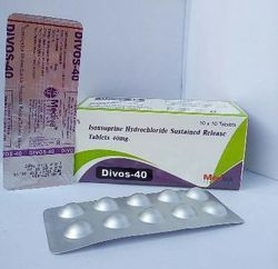 Allopathic Divos 40 Tablets, Packaging Type: Alu Alu, Packaging Size: 10 X 10