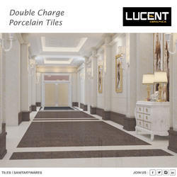 Dark Multi Charge Vitrified Tiles