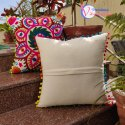 Hand Embroidered Designs Multicolor Suzani Cushions Cover