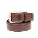 Leather Plus Brown Belt For Men NB-35