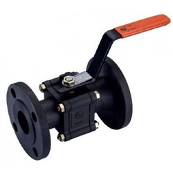 Zoloto Cast Steel Three Piece Design Ball Valves