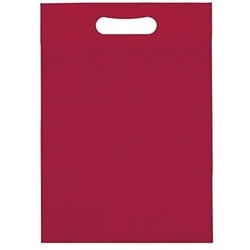 Plain Non-Woven D-Cut Carry Bags