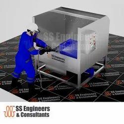 High Pressure Washing Booth