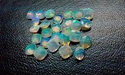 Ethiopian Opal Faceted Gemstone