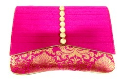 Traditional Potli Button Clutch