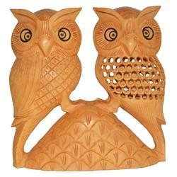 Wooden Tahani Owl