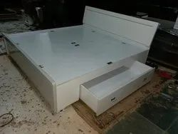 Double Bed with Drawer Storage