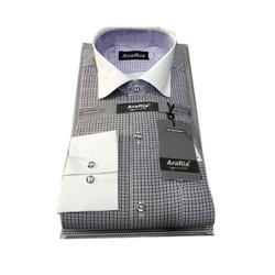 38.0 , 40.0 Checked Mens Casual Shirt