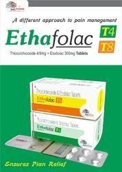Thiocolchicoside 8mg   Etodolac 300mg