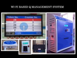 Wireless Q Management System