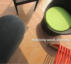 HardyPlast WPC Deck Floors