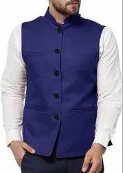 Nehru Jacket (Blue)