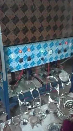 Four Die Buffer Plate Machine