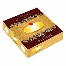 Cardboard Square Designer Sweet Box