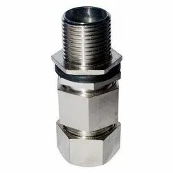Double Compression Cable Gland  Chrome Plated