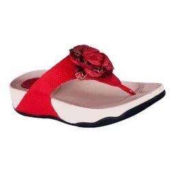 8d6de0fc414d Women Blue Beauty Red Stylish Flip Flops Slippers
