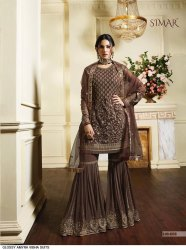 Embroiderd Sharara Suits