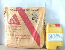 Acrylic Sikatop Seal 107 (A B), Packaging Type: 25 KG, for Roofs