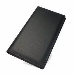 Restaurant Guest Check Presenter folder Bill Holder with Credit Card and Receipt Pocket Black