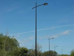 Conical Street Light Pole