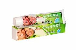 Clover flavour Arogya Fresh Toothpaste, Packaging Size: 100gm