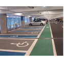 Industrial Parking Lot Striping Service