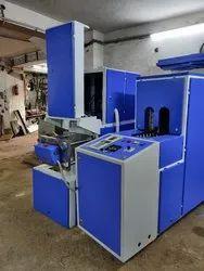 25 Ml - 2 Ltr Semi Automatic Pet Bottle & Jar Making Machine With Autodrop Function