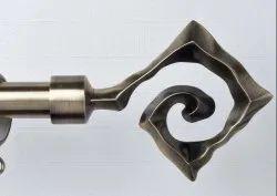 Designer Aluminium Curtain Rod Finials