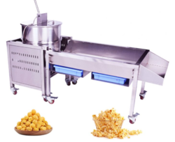 Commercial  Gas Popcorn Machine