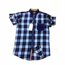 Denim Casual Wear Mens Full Sleeve Shirt