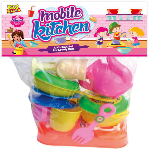 Ankit Toys Multicolor Mobile Kitchen Set No 2 Size Dimension Medium