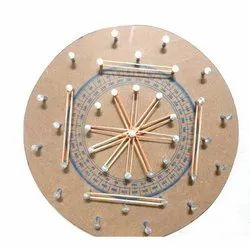 Geometrical Pin Circle Travel Toy