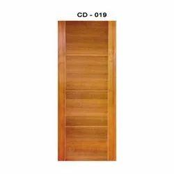 Mild Steel HDF Vineer Door, Thickness: 10-20 Mm