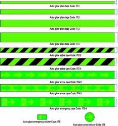 Auto Glow Arrow Tape