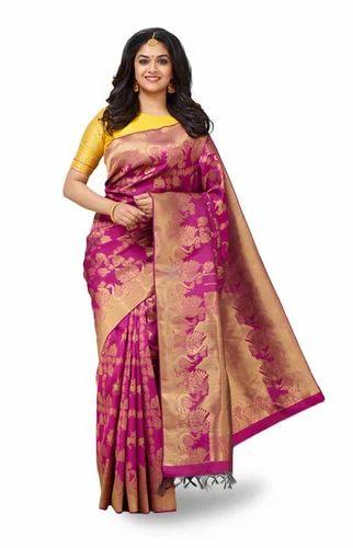8a60f667a5 Maganta Vivaha Bridal Silk Saree VBBS004, Rs 72995 /piece, Chennai ...