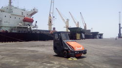 Road Cleaning Machine for Ports