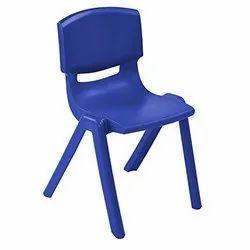 Sana Blue Kids Plastic Chair