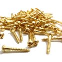 Brass Round Head Screws And Pins