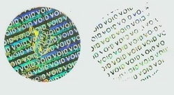 Void Holographic Labels