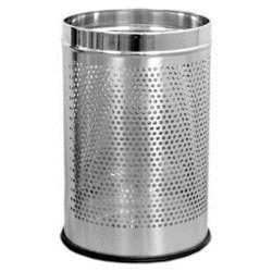 SS Square Perforated Dustbin