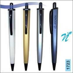 Plastic Hexagonal Pearl Coloured Pen