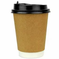 Disposable Paper Coffee Cup, for Event and Party Supplies, Capacity: 150 ML