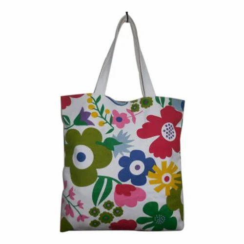 ebbe849e84 Multi Ladies Print Canvas Tote Bag