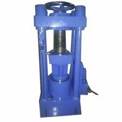 100 ton Compressor Hand Testing Machine Hand Operated Four Pillar Model
