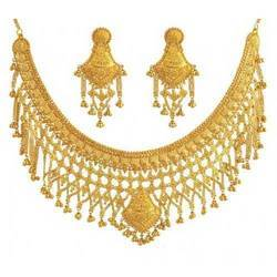 Indian Wedding Gold Necklace Jewellery Sets